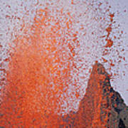 Volcanic Eruption, Spatter Cone Art Print