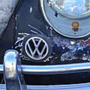 Volkswagen Vw Emblem Art Print