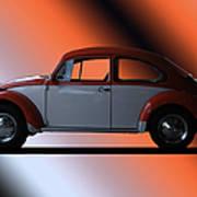 Volkswagon Bug Art Print