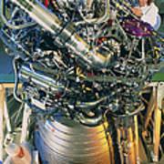 Vulcain Engine Designed For Ariane 5 Launcher Art Print