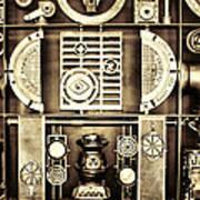 Vulcan Steel  Steampunk Metalworks Art Print