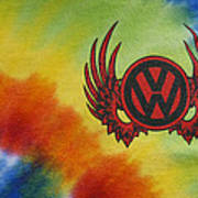 Vw Club Logo Art Print