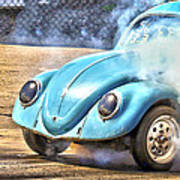 Vw Smoke Show Art Print