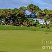 Wailua Golf Course - Hole 17 - 3 Art Print