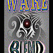 Wake Blend Product Design Art Print