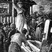 Wales: Rebecca Riots, 1843 Art Print