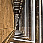Walhalla Colonnade ... Art Print