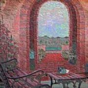 Wall Mural Enameled Art Print