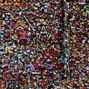 Wall Of Gum Art Print