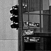 Wall Street And Broadway Art Print