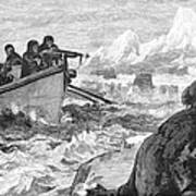 Walrus Hunt, 1875 Art Print