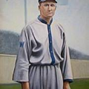 Walter Johnson Art Print by Mark Haley