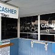 Wanted Cashier  Art Print