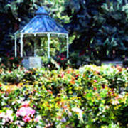 War Memorial Rose Garden 1  Art Print