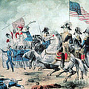 War Of 1812 Battle Of New Orleans 1815 Art Print