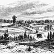 War Of 1812: Bladensburg Art Print