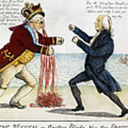 War Of 1812: Cartoon, 1813 Art Print