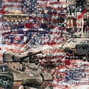 War Wagons    Art Print