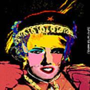 Warhollage 2d Art Print