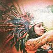 Warrior Dance Art Print