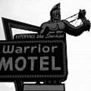 Warrior Motel Art Print