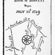 Washington: Book Of Surveys Art Print