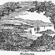 Washington, D.c., 1840 Art Print