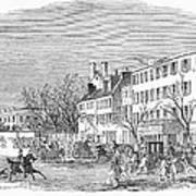 Washington, D.c., 1853 Art Print