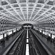 Washington Dc Metro Station II Art Print