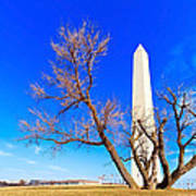 Washington Monument In Washington Dc Art Print