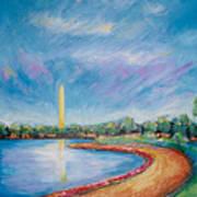 Washington Sky Art Print