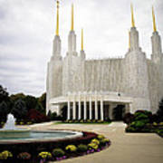 Washington Temple Art Print