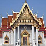 Wat Benchamabophit Ubosot Dthb180 Art Print