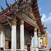 Wat Intarawiharn Ubosot Dthb1277 Art Print