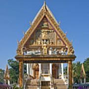 Wat Kan Luang Ubosot Gate Dthu181 Art Print