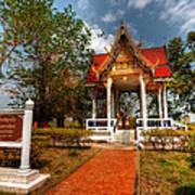 Wat Kham Chanot Art Print