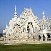 Wat Rong Khun Art Print