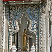 Wat Suan Phlu Ubosot East Portico Dthb1133 Art Print