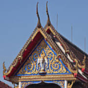 Wat Thewarat Kunchorn Gable Dthb286 Art Print