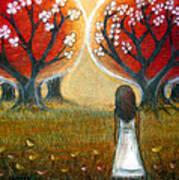 Watching The Trees Art Print