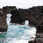 Water Arches Art Print