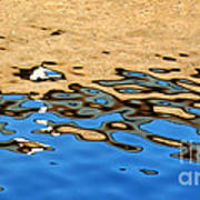 Water Art Art Print by Kaye Menner