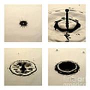 Water Drop Art Print by Raul Gonzalez Perez