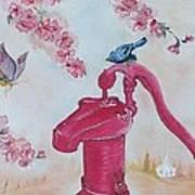 Water For My Church Art Print