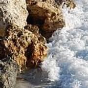 Water On The Rocks Art Print