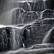 Water Over Wahconah Falls  Art Print