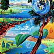 Water Planet Art Print