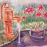 Water Pump Art Print