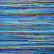 Water Shimmer Resin Art Print