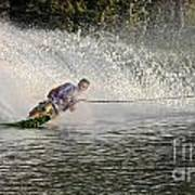 Water Skiing 14 Art Print